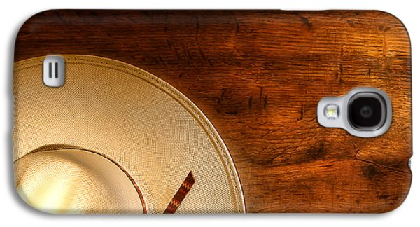 Landmarks Photographs Galaxy S4 Cases - Western Hat Memories Galaxy S4 Case by Olivier Le Queinec