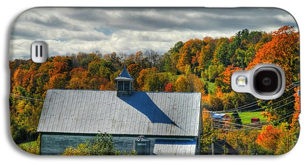 Old Maine Barns Galaxy S4 Cases - Western Maine Barn Galaxy S4 Case by Alana Ranney