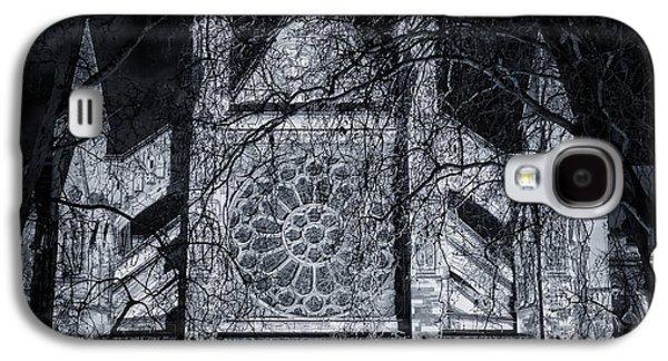 Westminster Abbey North Transept Galaxy S4 Case by Joan Carroll