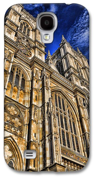 Landmarks Photographs Galaxy S4 Cases - Westminster Abbey West Front Galaxy S4 Case by Stephen Stookey