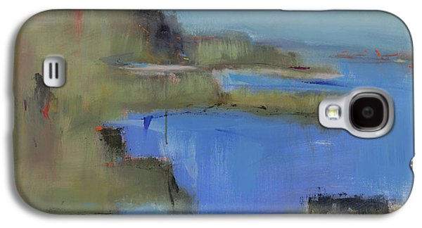 Abstract Landscape Galaxy S4 Cases - Westport River Galaxy S4 Case by Jacquie Gouveia