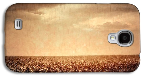Country Dirt Roads Galaxy S4 Cases - Wet Season Galaxy S4 Case by Wim Lanclus