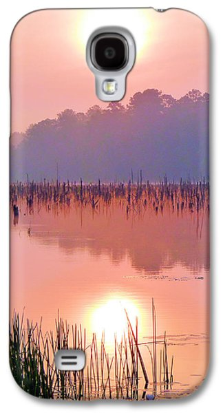 Enterprise Galaxy S4 Cases - Wetlands Sunrise Galaxy S4 Case by JC Findley