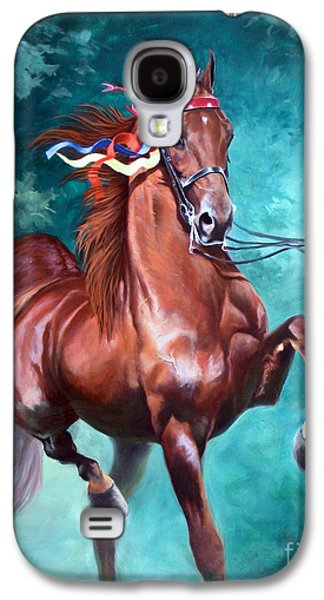 American Paintings Galaxy S4 Cases - WGC Courageous Lord Galaxy S4 Case by Jeanne Newton Schoborg