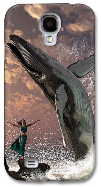 Whale Watcher Galaxy S4 Case by Daniel Eskridge