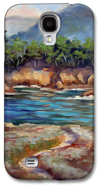 Whalers Cove Galaxy S4 Cases - Whalers Cove Point Lobos Galaxy S4 Case by Karin  Leonard