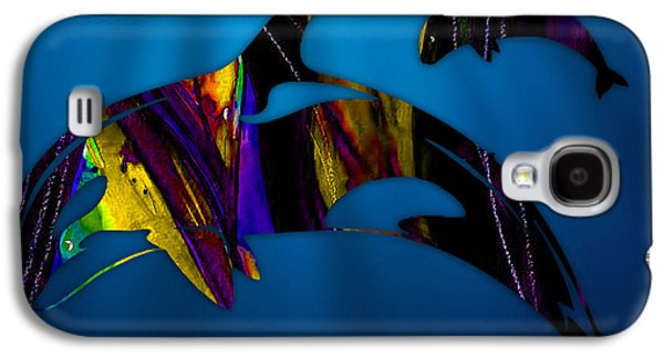 Whales Galaxy S4 Case by Marvin Blaine