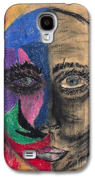 Inner Self Pastels Galaxy S4 Cases - What If I Lose My Mind Galaxy S4 Case by Suzi Gessert
