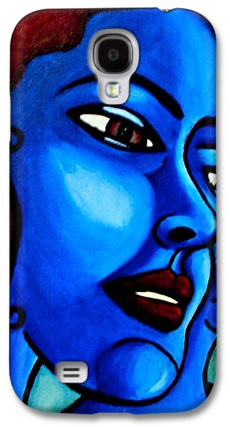 Disorder Paintings Galaxy S4 Cases - What is an Individual? Galaxy S4 Case by India Samara