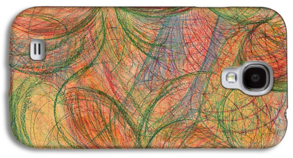 Abstract Movement Drawings Galaxy S4 Cases - What is Real? Galaxy S4 Case by Kelly K H B