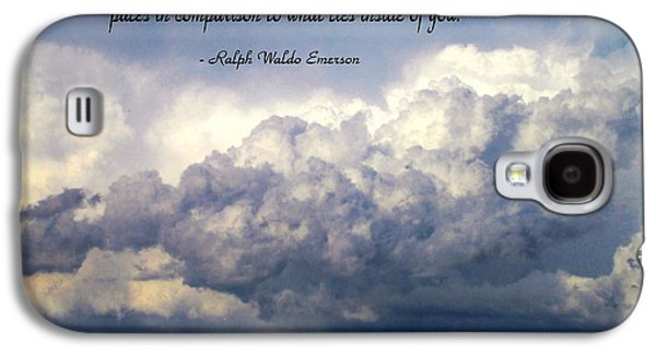 Inner Self Galaxy S4 Cases - What Lies Behind You Galaxy S4 Case by Joyce Dickens