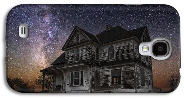 Abandoned House Photographs Galaxy S4 Cases - What Once Was Galaxy S4 Case by Aaron J Groen