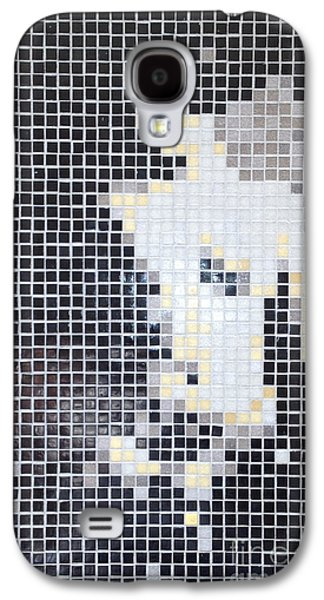 Tile Mosaic Ceramics Galaxy S4 Cases - What the Butler saw Galaxy S4 Case by Alan Wynne