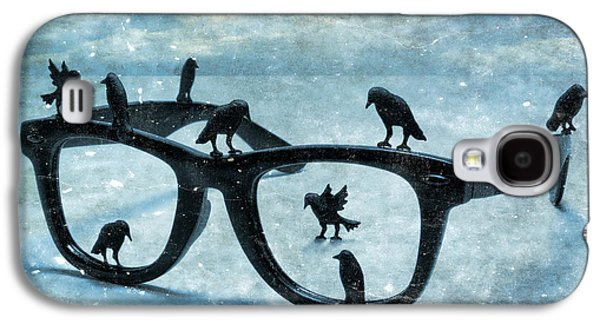Creative Blackbird Galaxy S4 Cases - What The Crows Found Galaxy S4 Case by Jeff  Gettis