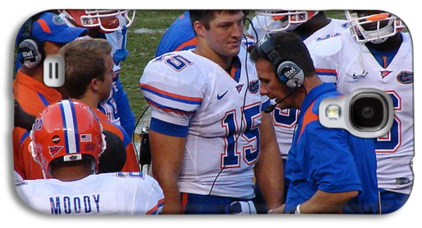 Tim Tebow Galaxy S4 Cases - Whats The Plan Boss? Galaxy S4 Case by Leara Nicole Morris-Clark