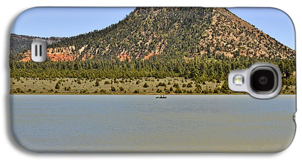 Scenic Drive Galaxy S4 Cases - Wheatfields Lake - Chuska Mountains Galaxy S4 Case by Christine Till