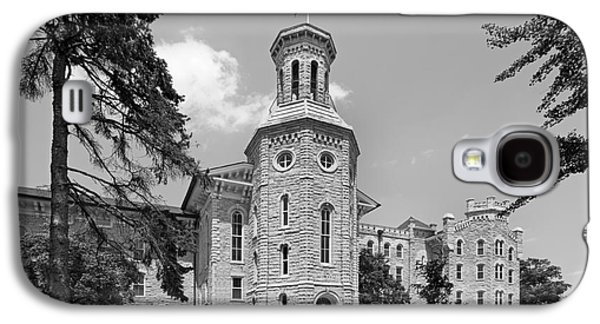 Collegiate Galaxy S4 Cases - Wheaton College Blanchard Hall Galaxy S4 Case by University Icons