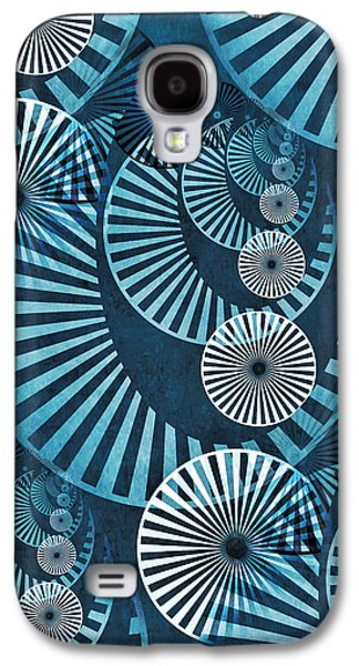 Gear Mixed Media Galaxy S4 Cases - Wheel In The Sky 1 Galaxy S4 Case by Angelina Vick