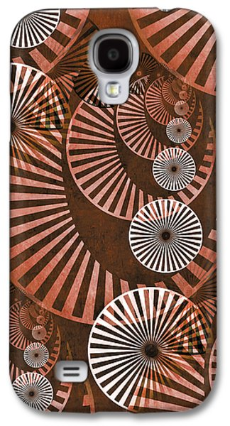 Gear Mixed Media Galaxy S4 Cases - Wheel In The Sky 2 Galaxy S4 Case by Angelina Vick