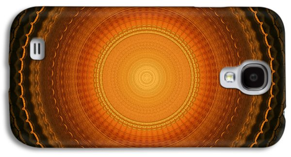 Abstract Digital Galaxy S4 Cases - Wheel Kaleidoscope Galaxy S4 Case by Wim Lanclus