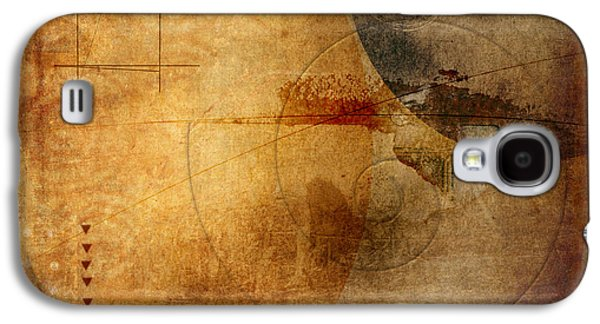 Rectangles Digital Galaxy S4 Cases - When Worlds Collide Galaxy S4 Case by Carol Leigh