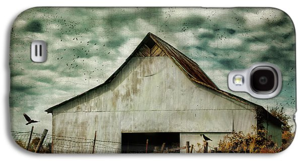 Tennessee Barn Galaxy S4 Cases - Where The Crows Roost In Autumn Galaxy S4 Case by Jai Johnson