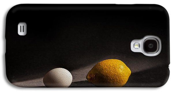 Studio Photographs Galaxy S4 Cases - Which Came First Galaxy S4 Case by Peter Tellone