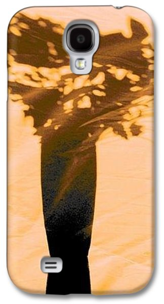 Impressionism Pyrography Galaxy S4 Cases - Whimsey Galaxy S4 Case by Carol Bower