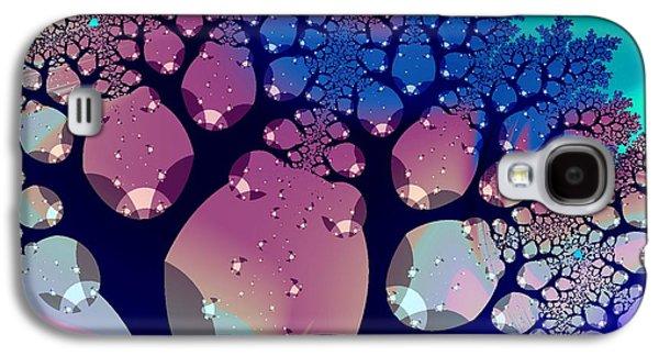 Anastasiya Malakhova Galaxy S4 Cases - Whimsical Forest Galaxy S4 Case by Anastasiya Malakhova