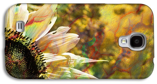 Dreamscape Galaxy S4 Cases - Whimsical Sunflower  Galaxy S4 Case by Luke Moore