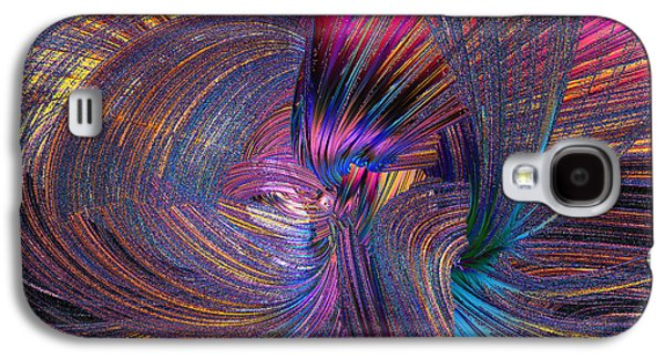 Abstract Movement Galaxy S4 Cases - Whirling Galaxy S4 Case by Michael Durst