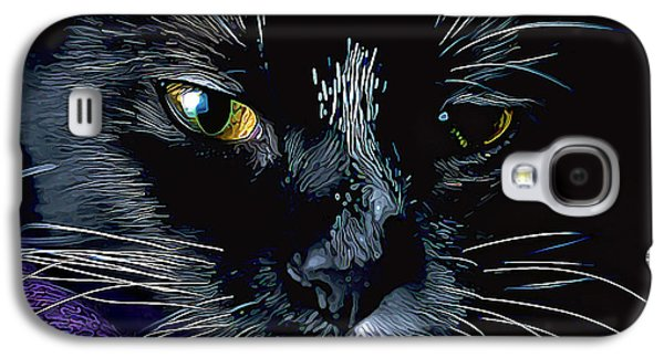 Photo Manipulation Photographs Galaxy S4 Cases - Whiskers Galaxy S4 Case by Bill Caldwell -        ABeautifulSky Photography