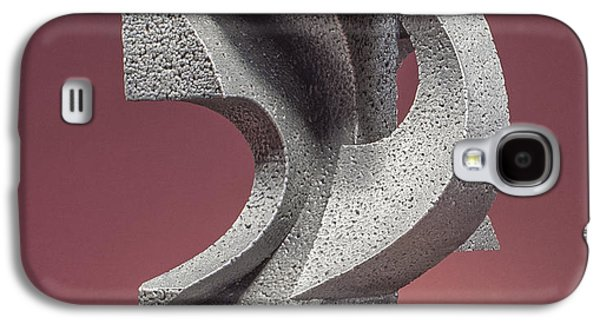 Colorful Abstract Sculptures Galaxy S4 Cases - Whispers and Secrets Galaxy S4 Case by Richard Arfsten