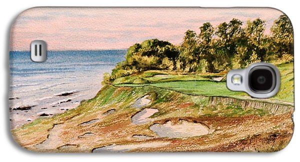 Bryant Paintings Galaxy S4 Cases - Whistling Straits Golf Course 17Th Hole Galaxy S4 Case by Bill Holkham