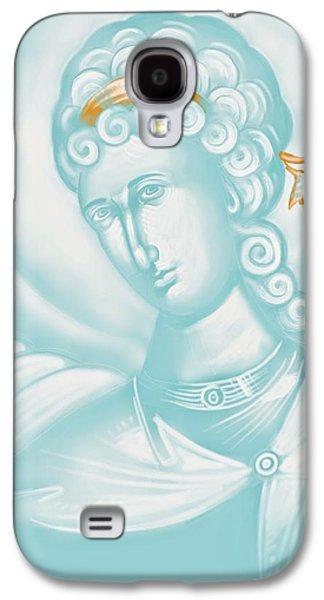 Julia Bridget Hayes Galaxy S4 Cases - White Angel Galaxy S4 Case by Julia Bridget Hayes