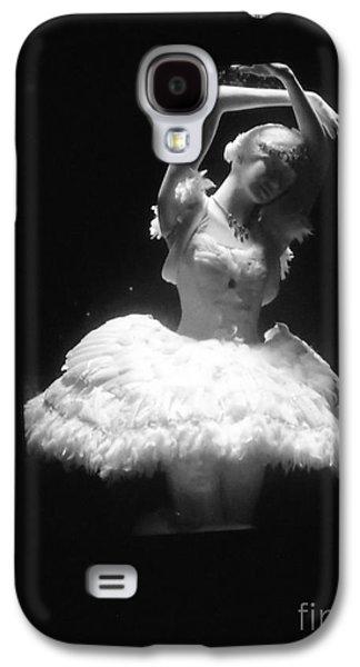 Statue Portrait Galaxy S4 Cases - White Ballerina Galaxy S4 Case by Lyric Lucas