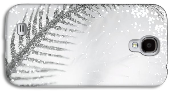 Abstract Digital Photographs Galaxy S4 Cases - White Bird Galaxy S4 Case by Dazzle Zazz