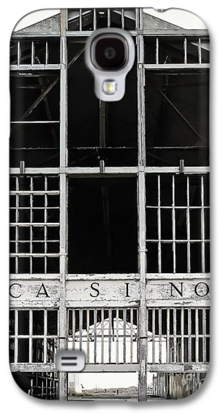 Original Art Photographs Galaxy S4 Cases - White Casino Galaxy S4 Case by Colleen Kammerer