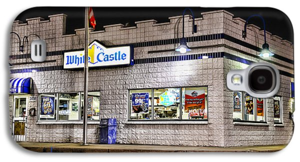 Slider Photographs Galaxy S4 Cases - White Castle 2 Galaxy S4 Case by Paul Ward