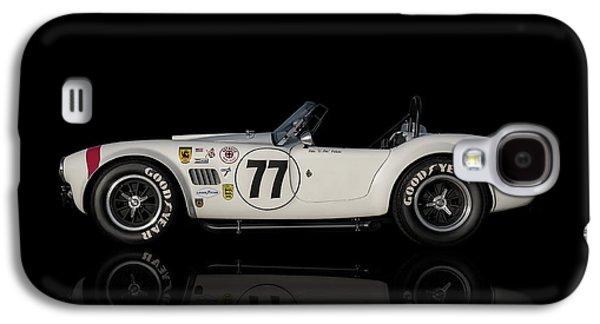 Sport Digital Art Galaxy S4 Cases - White Cobra Galaxy S4 Case by Douglas Pittman