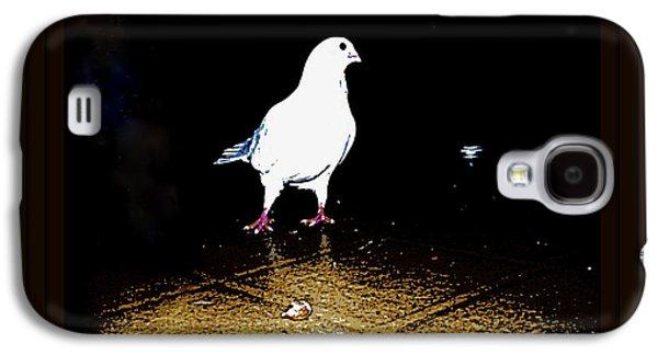 Yomamabird Rhonda Galaxy S4 Cases - White Dove Galaxy S4 Case by YoMamaBird Rhonda