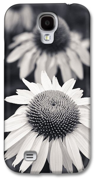 White Echinacea Flower Or Coneflower Galaxy S4 Case by Adam Romanowicz