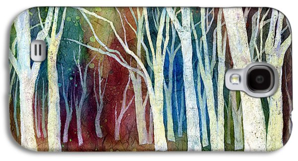 Abstract Landscape Galaxy S4 Cases - White Forest I Galaxy S4 Case by Hailey E Herrera