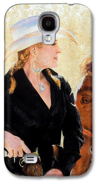 Universities Pastels Galaxy S4 Cases - White Hat Galaxy S4 Case by Debra Jones