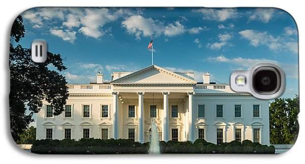White House Sunrise Galaxy S4 Case by Steve Gadomski