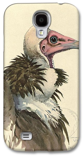 White Necked Vulture Galaxy S4 Case by Louis Agassiz Fuertes