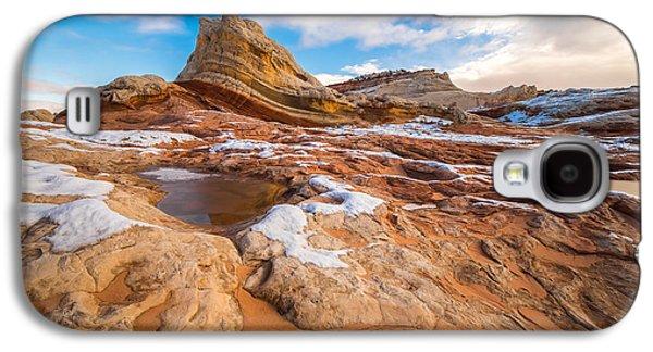 White Pocket Utah 3 Galaxy S4 Case by Larry Marshall