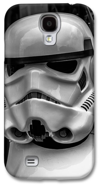 Storm Digital Art Galaxy S4 Cases - White Stormtrooper Galaxy S4 Case by David Doyle