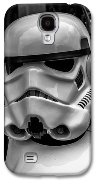 Storm Digital Galaxy S4 Cases - White Stormtrooper Galaxy S4 Case by David Doyle