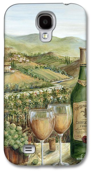 Chardonnay Galaxy S4 Cases - White Wine Lovers Galaxy S4 Case by Marilyn Dunlap